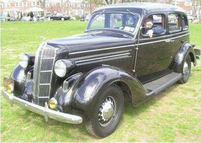 1936 dodge 4 door touring sedan milan g sharik jr dodge for 1936 dodge 4 door sedan