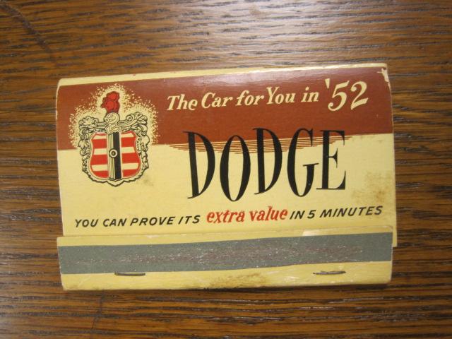 52 dodge matches.JPG